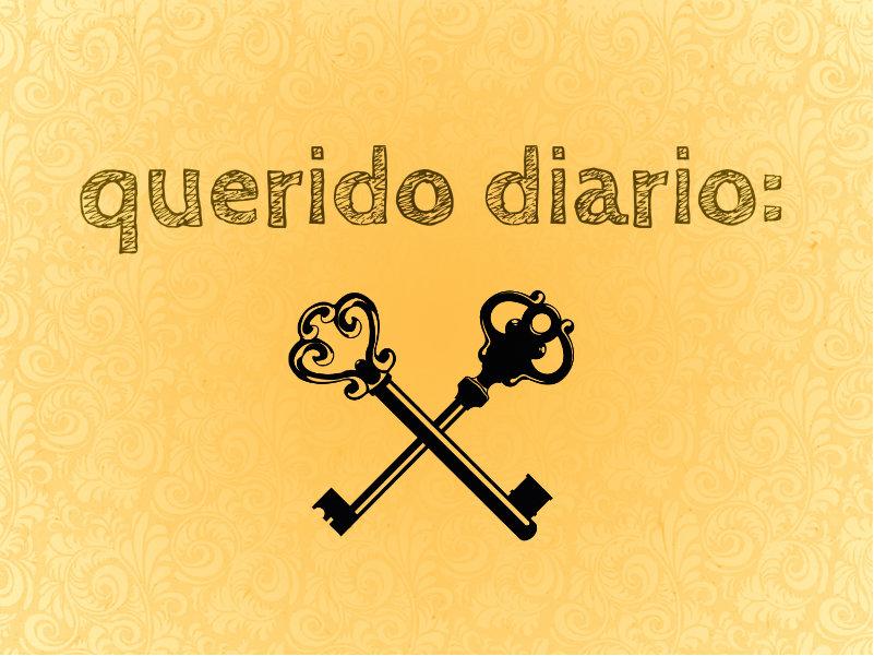 Querido diario.