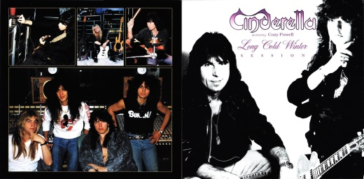 Cinderella feat. Cozy Powell - Long Cold Winter Session - Cover Fold
