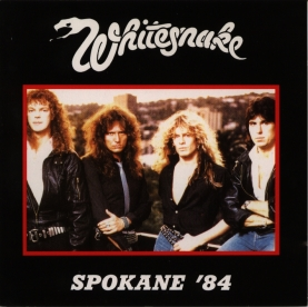 Whitesnake [1984.07.24] Spokane '84 - Front Cover