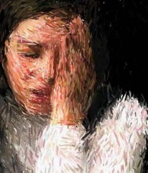 pintura-de-mujer-deprimida-300x350