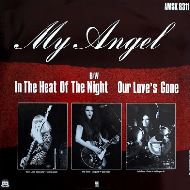 1983 My Angel - Rock Goddess (Single '12 U.K A&M AMSX 8311)