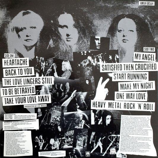 1983 Rock Goddess - Rock Goddess (L.P U.K A&M AMLH 68554)