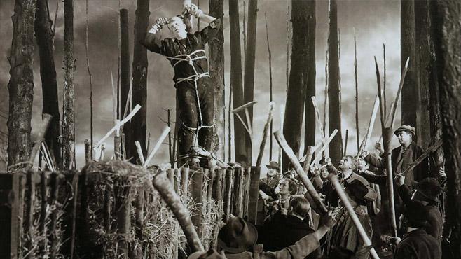 Frankenstein-Crucifixion